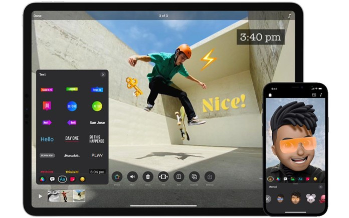 Clips, la app de vídeos divertida y fácil de usar, recibe su mayor actualización