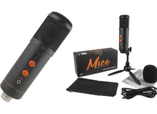 Qué micro más 'mono': Monkey Banana Mico es un micrófono USB ideal para voces, podcasting, gaming, y más