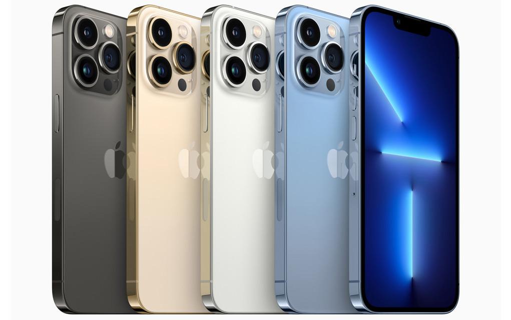 iPhone 13 Pro e iPhone 13 Pro Max son más